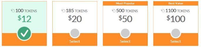 Cams.com prices