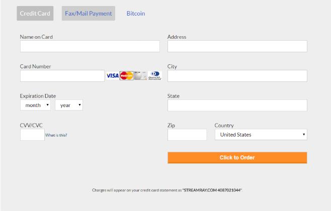 Cams.com payment