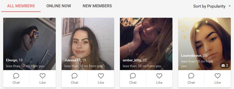 Naughtydate.com members