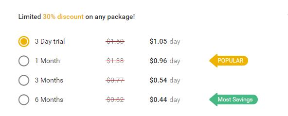 Onenightfriend.com prices