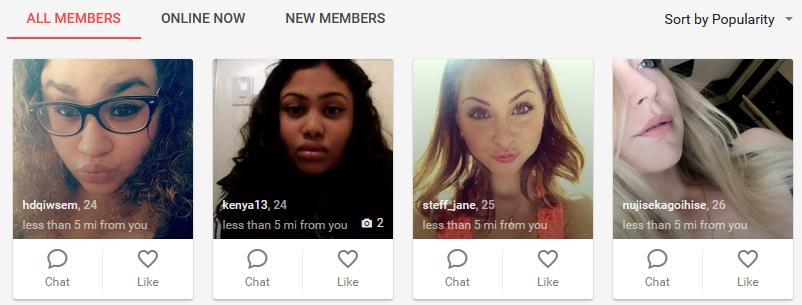 Quickflirt.com members