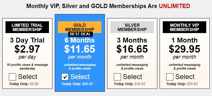 Xmilfs.com prices