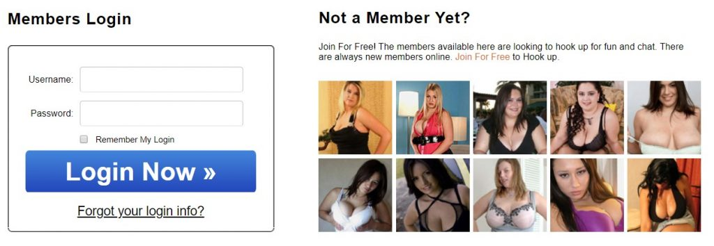 BBWDesire.com member login